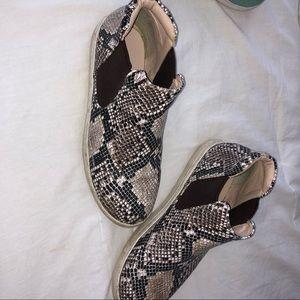 Matisse Snakeskin Sneakers